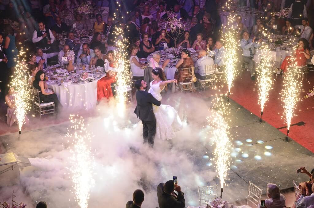 Palladio Ballroom your indoor wedding and event venue in jounieh Lebanon. Bride & Groom