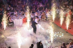 Palladio Ballroom your indoor wedding and event venue in jounieh Lebanon. First dance