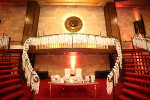 Palladio Ballroom your indoor wedding and event venue in jounieh Lebanon. Stairway