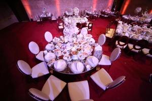 Palladio Ballroom your indoor wedding and event venue in jounieh Lebanon. table setup