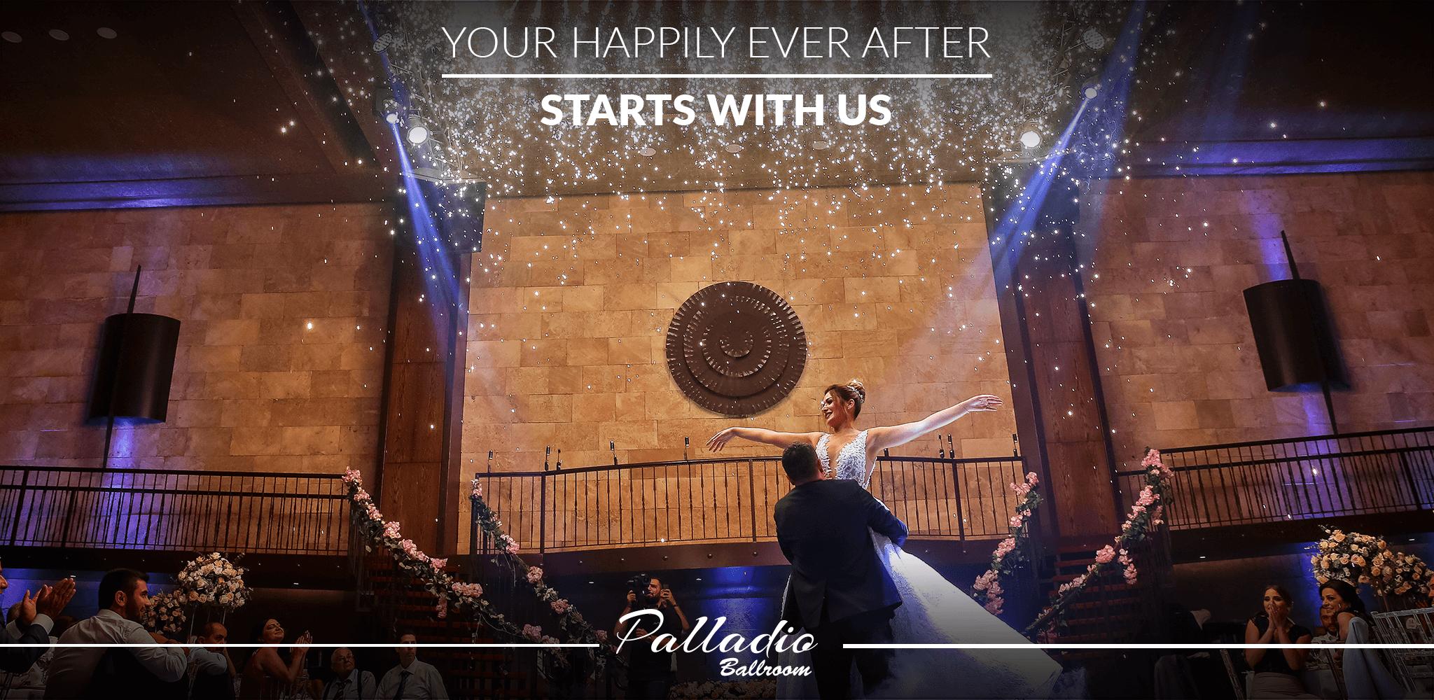 Palladio Ballroom your indoor wedding and event venue in jounieh Lebanon.